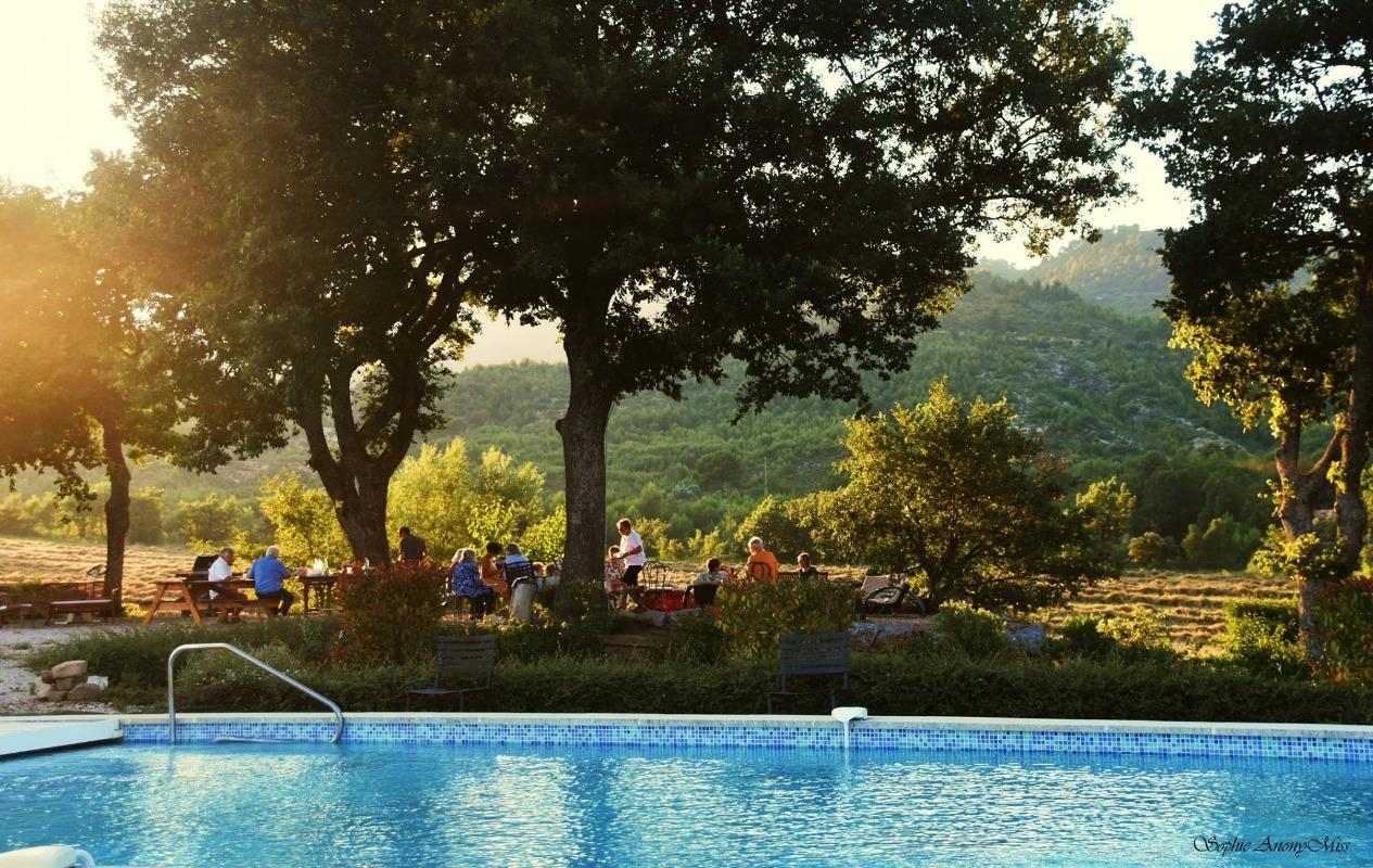 Gites luberon avec piscine location de vacances provence Gite de france vaucluse avec piscine